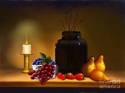 Painting - Fruits Of Life by Sena Wilson