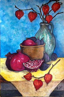 Painting - Fruits Of Season  by Rae Chichilnitsky