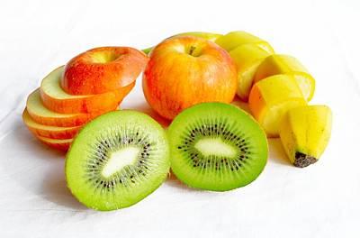 Kiwi Mixed Media - Fruits by Oldschool Crew