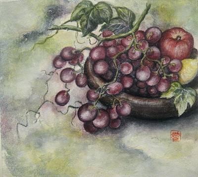 Fruits Art Print by Tomoko Koyama