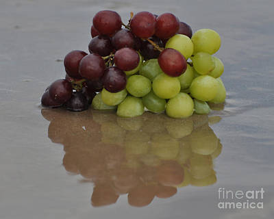 Fruitscapes Grapes Art Print