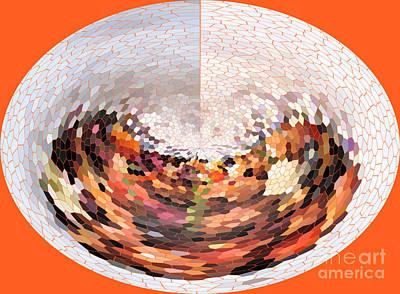 Photograph - Fruity Orange Abstract  by Ausra Huntington nee Paulauskaite