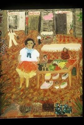 Etnic Art Painting - Frutas De La Vida by Mary Kay