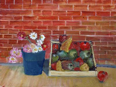 Painting - Frutta E Fiori by Niki Mastromonaco