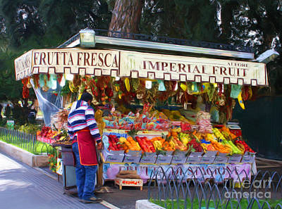 Photograph - Frutta Fresca by Tom Griffithe