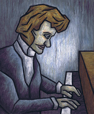 On Paper Painting - Fryderyk Chopin - Prelude In E-minor by Kamil Swiatek