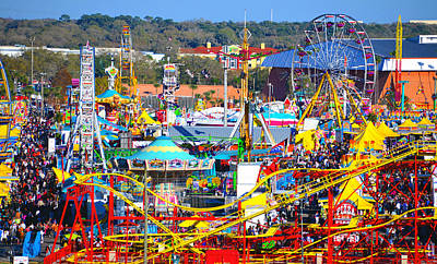Florida State Fair Photograph - Fsf 2015 Fine Art Stock 2 by David Lee Thompson
