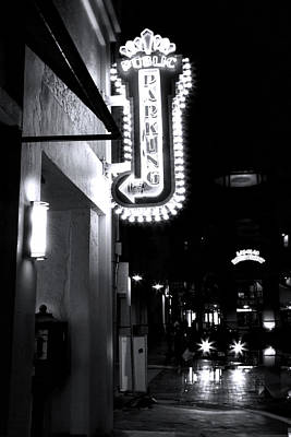 Sign In Florida Photograph - Ft. Lauderdale Nights by Mark Andrew Thomas