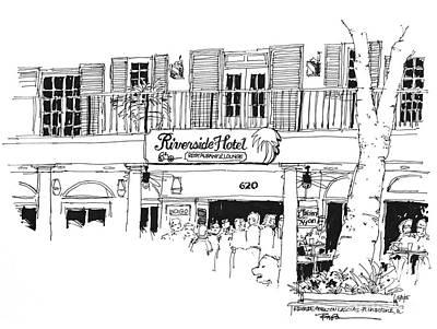 Ft. Lauderdale Riverside Hotel Florida  Art Print