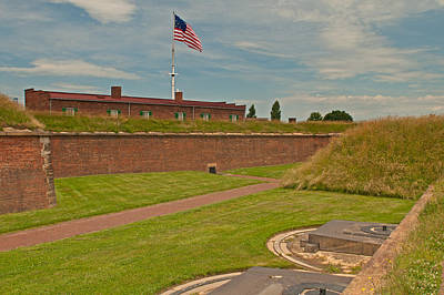 Photograph - Ft Mchenry by Paul Mangold