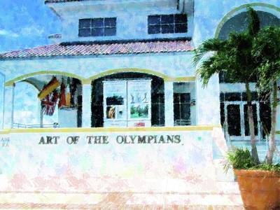 Mixed Media - Ft Myers Pride by Florene Welebny