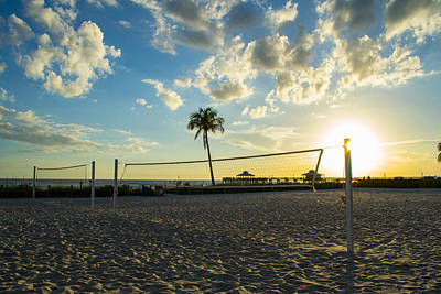 Photograph - Ft. Myers Volleyball by Shannon Harrington