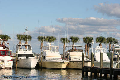 Photograph - Ft. Pierce Marina by Marty Gayler