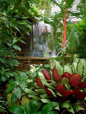 Photograph - Ft Worth Botanic Garden Conservatory by Janet Maloy