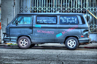 Photograph - Fuck Monsanto by Digiblocks Photography