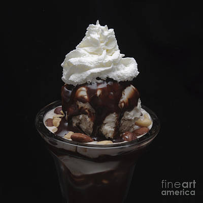 Photograph - Fudge Nut Sundae Square by Andee Design