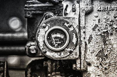 Caterpillar Wall Art - Photograph - Fuel Deficient by Susan Capuano