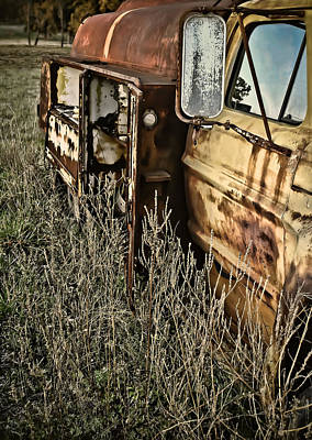 Art Print featuring the photograph Fuel Oil Truck by Greg Jackson