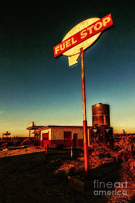 Photograph - Fuel Stop by Pam Vick