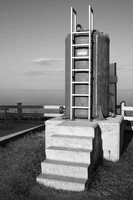 Photograph - Fuel Tank For Cap Aux Rosiers Lighthouse by Arkady Kunysz