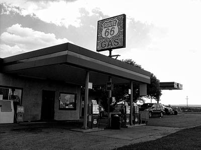 Photograph - Fueling Up On 66 by Philomena Zito