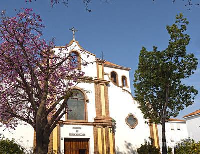 Photograph - Fuengirola Church by Brenda Kean