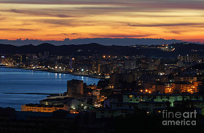 Photograph - Fuengirola Sunset 2 by Rod Jones