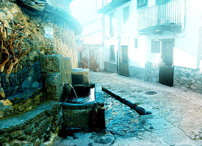 Art Print featuring the photograph Fuente De Candelario by Alfonso Garcia