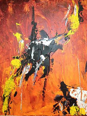 Vague Feelings Painting - Fuerte  by Angelo Terracciano
