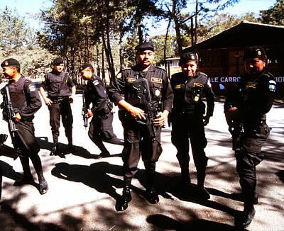 Photograph - Fuerza De Intervencion Policia by Robert  Rodvik