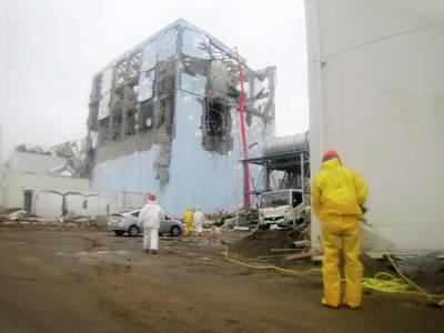 Fukushima Nuclear Disaster Art Print by Public Health England