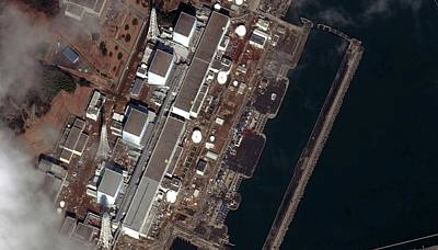 Destruction Island Photograph - Fukushima Nuclear Power Plant by Digital Globe
