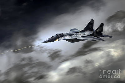 Canon Digital Art - Fulcrum Assault by J Biggadike