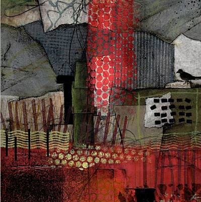 Gray Mixed Media - Fulfillment by Laura  Lein-Svencner