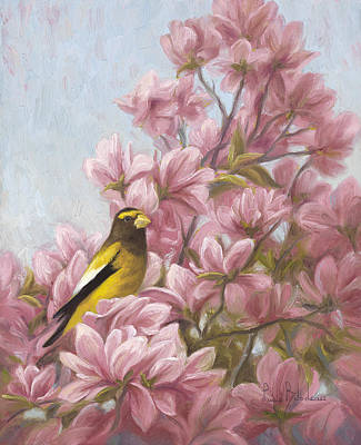 Full-bloom Art Print by Lucie Bilodeau