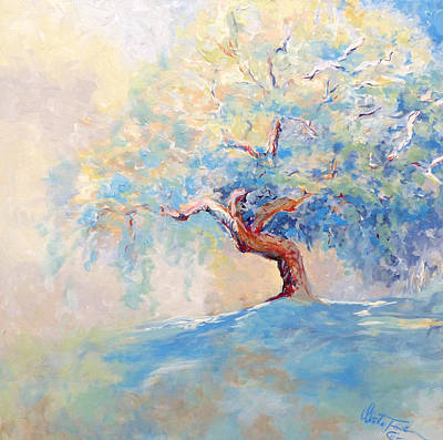 Painting - Full Blooming Tree by Christa Friedl