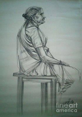 Appreciate Drawing - Full Figure Life by Ram Raj