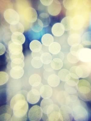 Full Frame Shot Of Defocused Lights Art Print by Alex Ortega / Eyeem