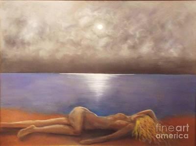 Painting - Full Moon 2 by Alex Rahav