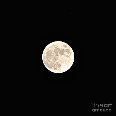 Photograph - Full Moon by Bridgette Gomes