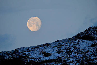 Photograph - Full Moon by Gavin Macrae