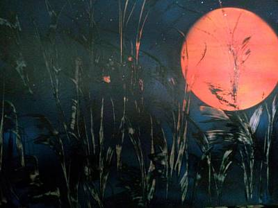 Painting - Full Moon by Gerry Smith