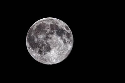 Full Moon Art Print by Grant Glendinning