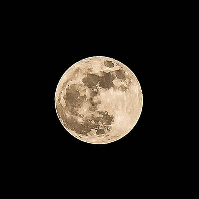 Photograph - Full Moon by John McArthur
