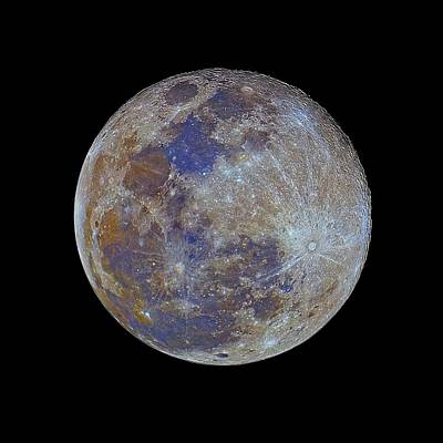 Sea Moon Full Moon Photograph - Full Moon by Luis Argerich