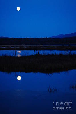 Wine Beer And Alcohol Patents - Full moon rising by Jeffery L Bowers