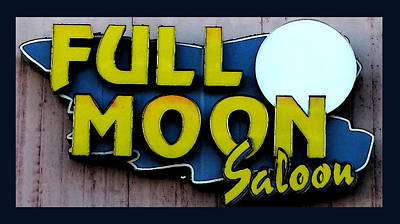 Photograph - Full Moon Saloon by Gail Lawnicki