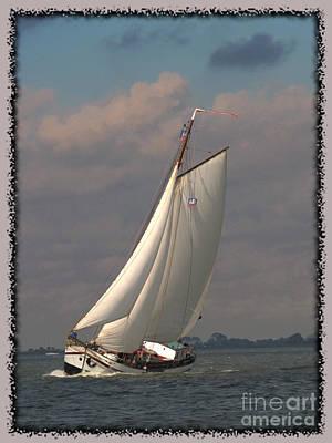 Art Print featuring the photograph Full Sail by Luc Van de Steeg