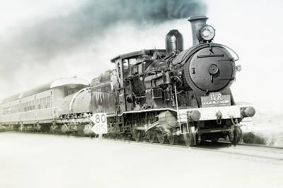Photograph - Full Steam Ahead by Kevin Chippindall