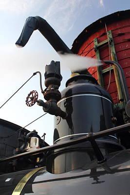Steam Locomotive Photograph - Full Steam Ahead by Stephen Hobbs
